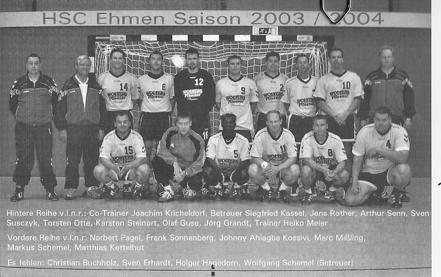 Die 1. Herren 2003