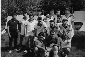 Pfingsten 1963, Turnier auf Kleinfeld in Hamburg-Bergedorf
