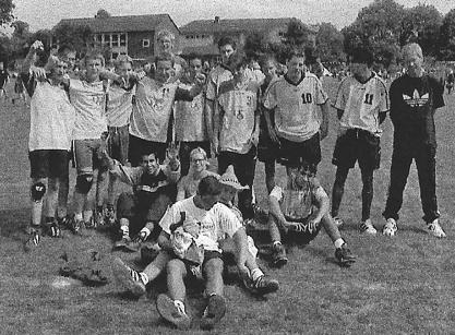 Kader der männlichen A-Jugend (SG mit dem VFB Fallersleben).