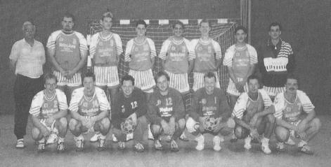 Erneuter Aufstieg der 1.Herren in die Bezirksliga mit Spielertrainer Peter Sacher.