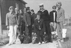 Pfingsten, Handballfahrt nach Helgoland