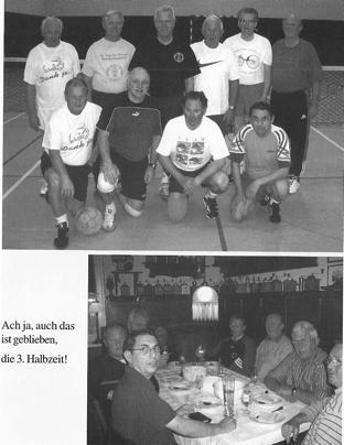 Die jahrelang aktive Herrengymnastik unter der Leitung von Christian Kammerer.