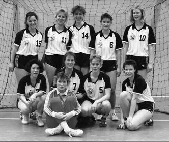 1. Damen, Meister der 1. Kreisklasse und Aufsteiger in die Kreisliga