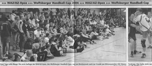 Die 1. WAZ/AZ-Open starteten am 20./21. Mai.