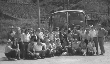 Juni, Gesellschaftsfahrt nach Klotten/Cochem an der Mosel