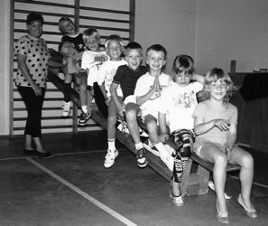 Auch eine Mutter-Kind-Gruppe wurde am 01.07.1989 unter der Leitung von Brigitte Vetter gegründet.