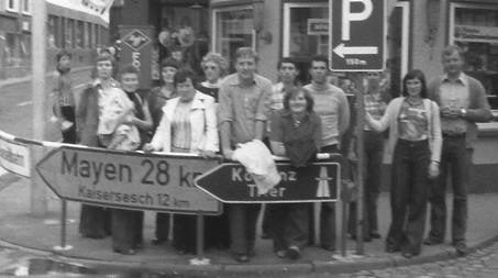 In diesem Jahr zog es die Handballer nach Trittenheim an der Mosel
