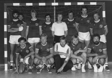 Einen erneuten Kreismeistertitel konnten 1. Herren in der Saison 1981/82 erringen