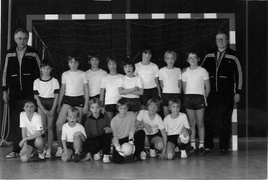 Diese Mannschaft spielte in Göttingen um die Niedersachsen-Meisterschaft