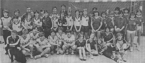Erfolgreiche Kreismeister-Mannschaften weibliche B-, männliche B- und männliche C-Jugend