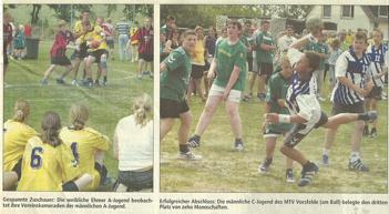 Tage der Ehmener Handballjugend 2003 - Zeitungsartikel 2