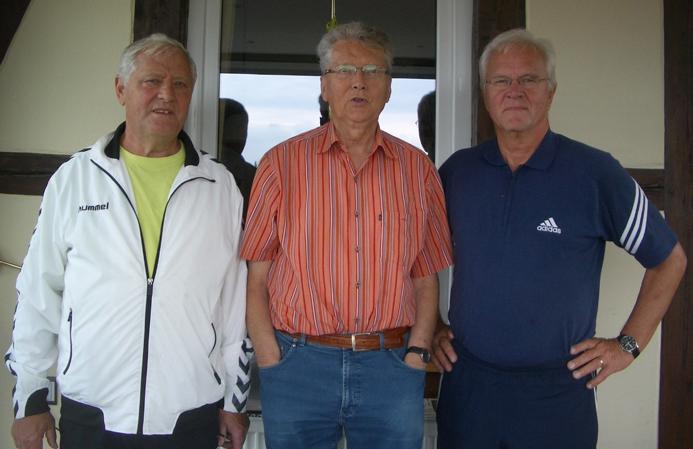 Die Gesichter hinter der Chronik: Siegfried Kassel, Peter Vorpahl und Uwe Pegelow