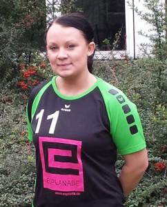 Zurück im Team: Sabina Konietzko.