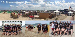 Pink Pirates und Flachzangen beim 15. Travemünder Beachhandball-Cup 2016