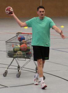 Trainer Carsten Meißner (02.08.2016; Foto: HSC Ehmen)
