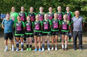 Die 1. Damen in der Saison 2016/2017 (11.09.16).